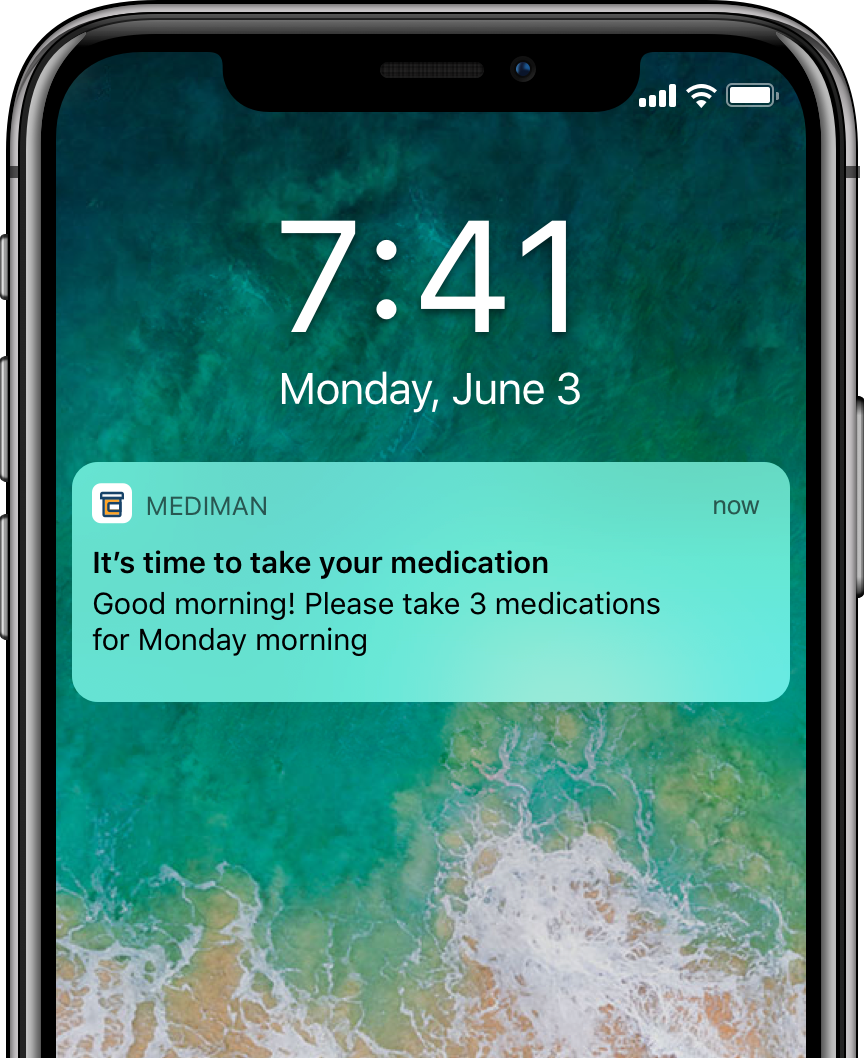 Automated medication reminders and notifications